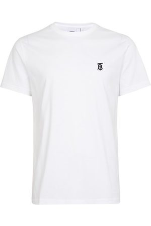 Burberry Men T-shirts - Monogram Motif Cotton T-shirt