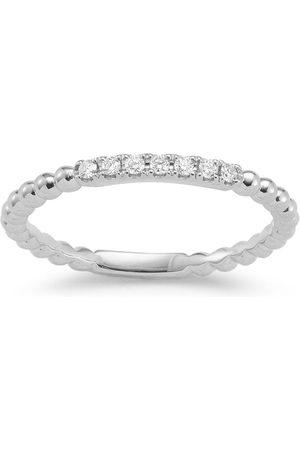 Dana Rebecca Designs Women Rings - 18kt white gold and diamond Poppy Rae ring
