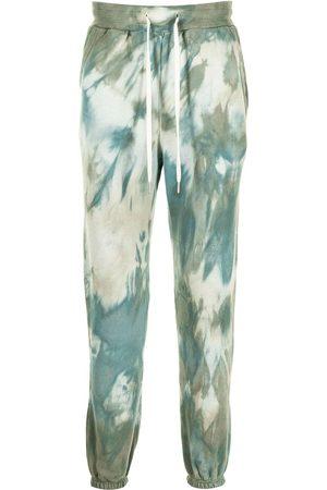 JOHN ELLIOTT Tie-dye print track pants