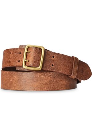 Polo Ralph Lauren Garrison Double-Prong Leather Belt