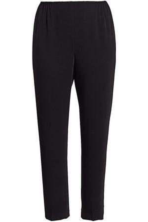 Caroline Rose Women's Crepe Suzette Slim Pants - - Size XXXL