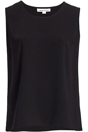 Caroline Rose Women's Suzette Crepe Tank Top - - Size XXXL
