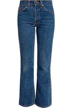 VALENTINO Women's Unisex x Levi's 517 Bootcut Jeans - Navy - Size 31