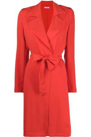 P.a.r.o.s.h. Notched-lapels tie-waist coat