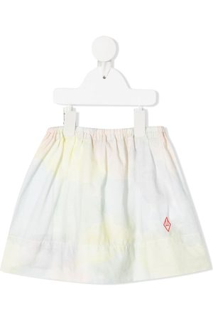 The Animals Observatory Tie-dye print cotton skirt