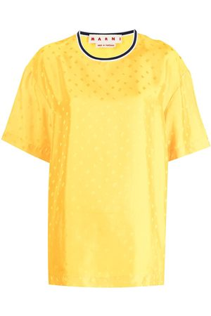Marni Logo jacquard oversized T-shirt