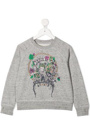 Zadig & Voltaire Logo-print sweatshirt - Grey