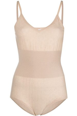 ERES Knitted cashmere body - Neutrals