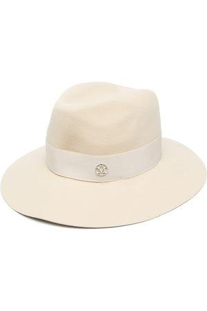 Le Mont St Michel Henrietta wool felt fedora hat - Neutrals
