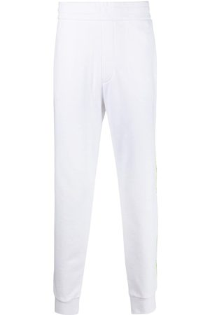 Armani Side-stripe joggers