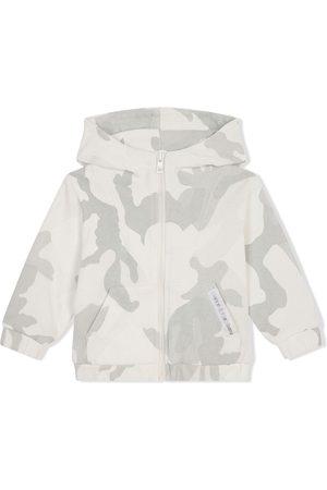 Dolce & Gabbana Camouflage-print hoodie - Neutrals