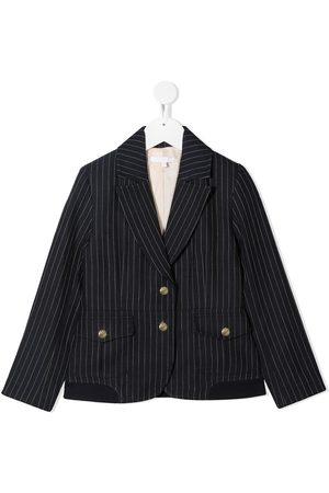 Chloé Single-breasted pinstripe blazer