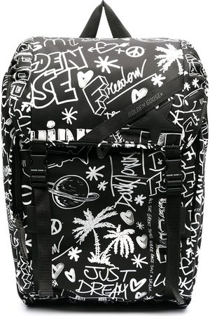 Golden Goose All-over graphic print backpack