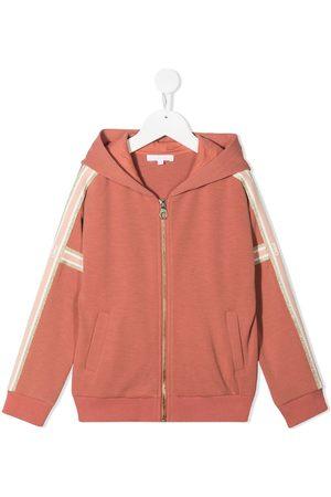 Chloé Logo zipped hoodie