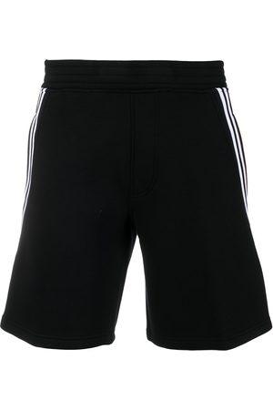 Neil Barrett Side-stripe track shorts