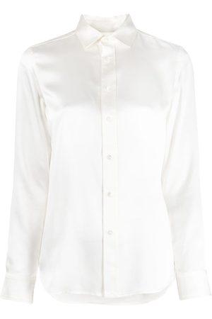 Polo Ralph Lauren Long-sleeve mulberry silk shirt - Neutrals