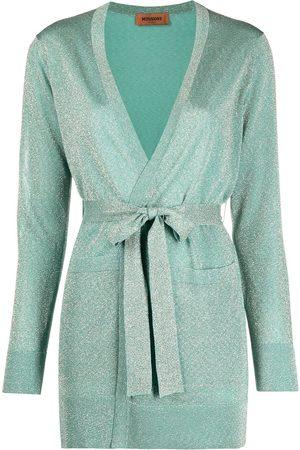 Missoni Metallic-threaded knitted cardigan