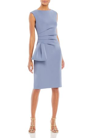 Eliza J Side Ruffle Sleeveless Dress