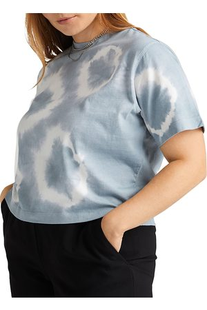 Richer Poorer Cropped Crewneck Cotton Top