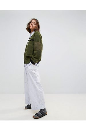 WoodWood Marion Cropped Wide Leg Pants