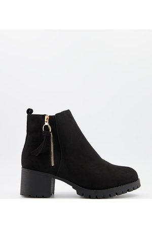 Simply Be Heeled ankle boots in