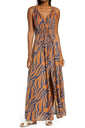 Delan Women's Cover-Up Maxi Dress