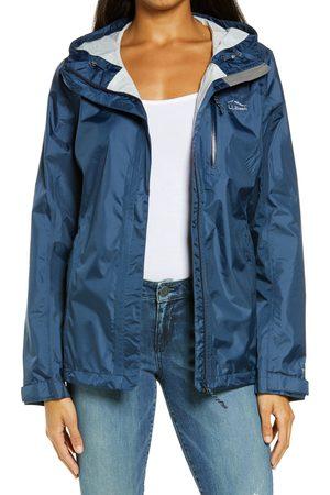 L.L.BEAN Women's L.l. Bean Trail Model Water Resistant Packable Rain Jacket