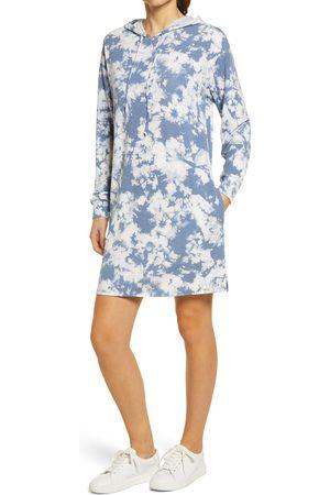 Caslon Women's Caslon Hooded Sweatshirt Dress