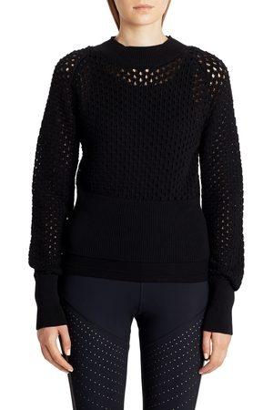 Moncler Women's Openwork Cotton Sweater