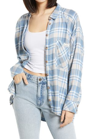 BDG Urban Outfitters Women's Plaid Button-Up Shirt