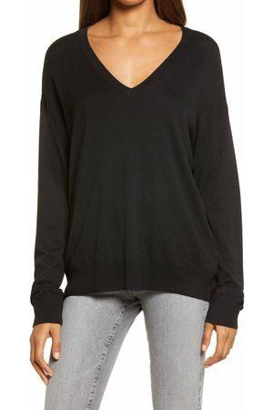 Treasure & Bond Women's V-Neck Sweater