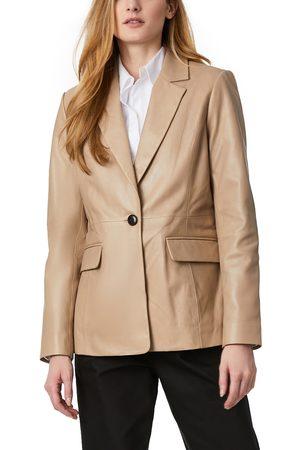 Bernardo Women's Leather Blazer