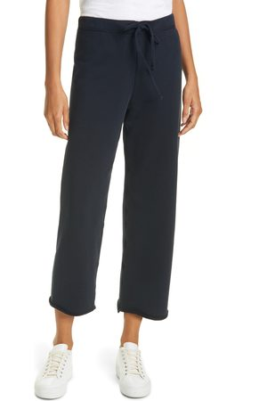 FRANK & EILEEN Women's Crop Wide Leg Cotton Pants