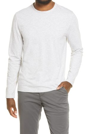 Vince Men's Feeder Stripe Slub Long Sleeve T-Shirt