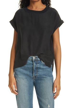 Frame Women's Oversize Silk T-Shirt