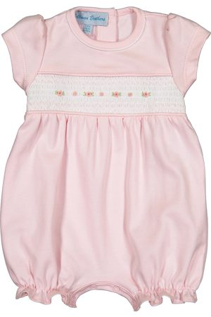 Feltman Brothers Infant Girl's Embroidered Bubble Romper