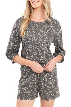 CE&CE Women's Wildflower Meadow Puff Sleeve Top