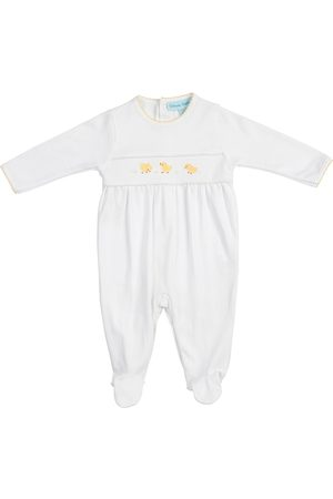 Feltman Brothers Infant Girl's Chick Embroidered Footie