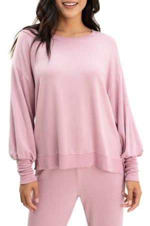 Splendid Women's Flora Blouson Sleeve Top