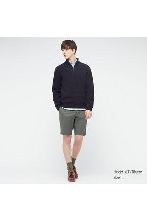 UNIQLO Men's Stretch Slim-Fit Shorts, , XS