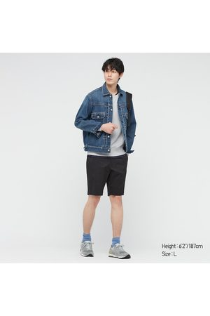 UNIQLO Men's Stretch Slim-Fit Shorts, , 3XL