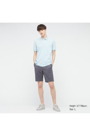 UNIQLO Men's Stretch Patterned Slim-Fit Shorts, , XS