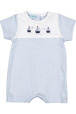 Feltman Brothers Infant Boy's Sailboat Romper