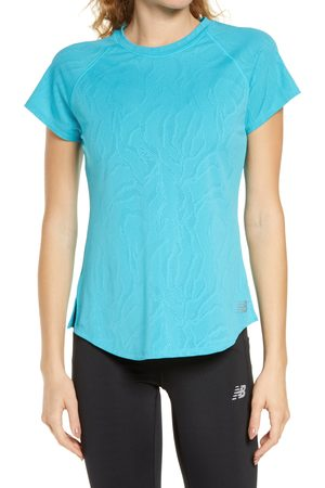 New Balance Women's Q Speed Fuel Jacquard T-Shirt