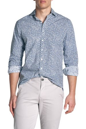 Rodd & Gunn Men's Ocean Grove Regular Fit Print Button-Up Shirt