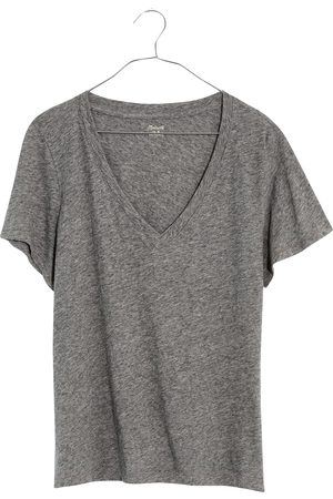 Madewell Women's Whisper Cotton V-Neck T-Shirt