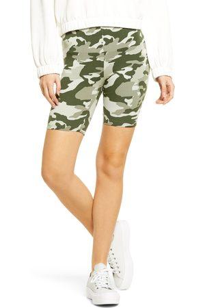 HUE Women's Camo Bike Shorts