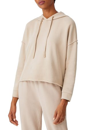 Eileen Fisher Women's Crop Organic Cotton Hoodie