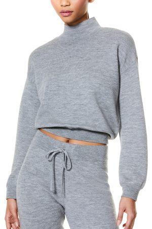 ALICE+OLIVIA Women's Mattie Blouson Wool Blend Pullover