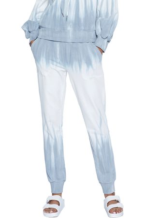 WASH LAB Women's Paint Drip Graphic Joggers